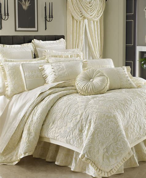 macy s bed and bath fancy j queen bedding rothschild comforter sets