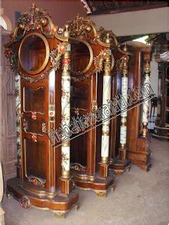 Lemari Hias Jam By Furniture Shop mebel jati jepara jual lemari jam hias mahkota mebel