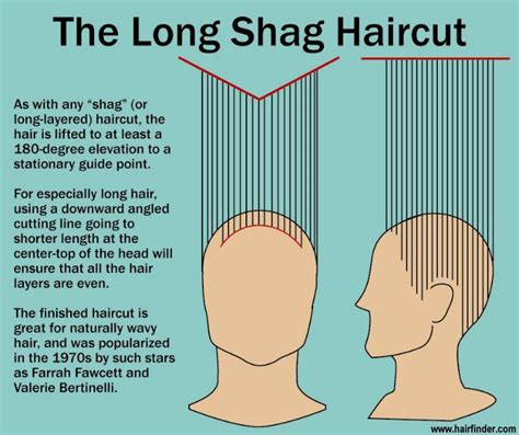 diagram of wedge haircut the long shag haircut how to do it 70s shag