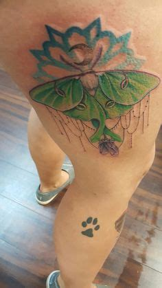 butterfly tattoo halifax luna moth medicine painting original sacred geometry