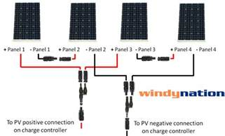 complete kit 400 watt 400w 400watts photovoltaic pv solar panel 12v 24v rv boat ebay