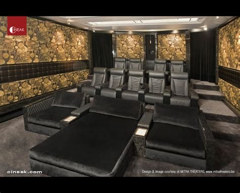 home theater furniture cineak fortuny cosymo home theater modern home