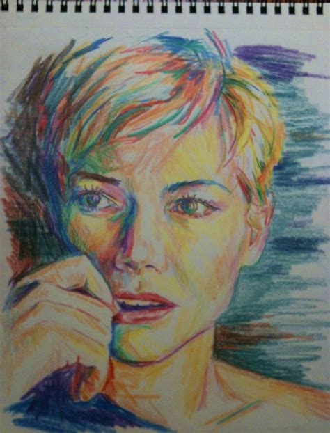 colored pencil portraits colored pencil sketches by joe vandello