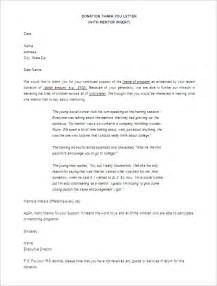 donor thank you letter template 10 free word excel