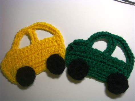 free applique amurushka car appliqu 233 crochet pattern
