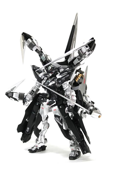 Gundam Wings Black Silver gundam 1 100 gundam astray silver frame 4th cancer custom build gundam