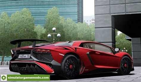Lamborghini Aventador Simulator by City Car Driving 1 5 4 2015 Lamborghini Aventador