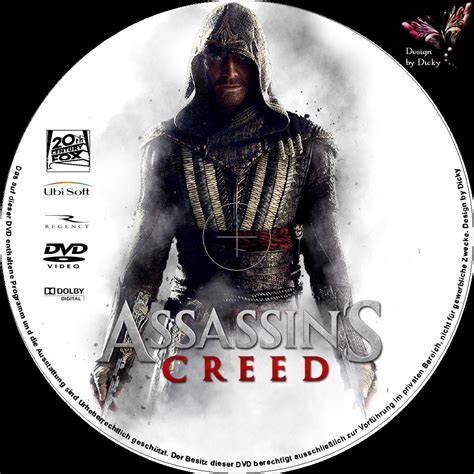 Kaset Bd Ps4 Assassins Creed Chronicles assassins creed dvd cover labels 2017 r2 german custom