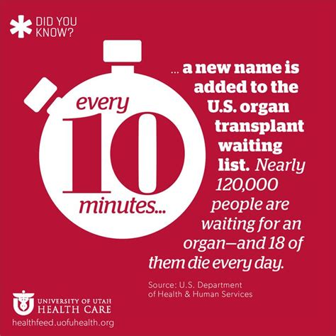 organ donor startling facts about organ donation infographics