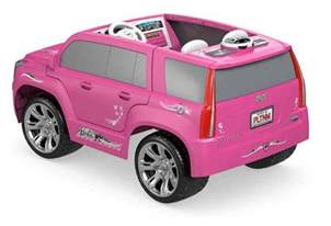 Power Wheel Cadillac Escalade Pink Pin Pink Escalade Power Wheels In A Subway Car Pictures On