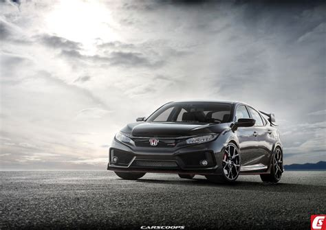 340匹馬力全面備戰 第10代 honda civic type r 概念車可望在巴黎車展亮相