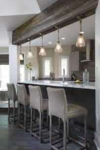 Crystal Chandelier Pendants Purple Kitchen Island With Brass Pulls Contemporary