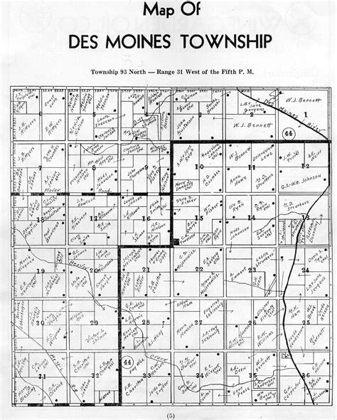 map of des moines the usgenweb archives digital map library iowa maps index