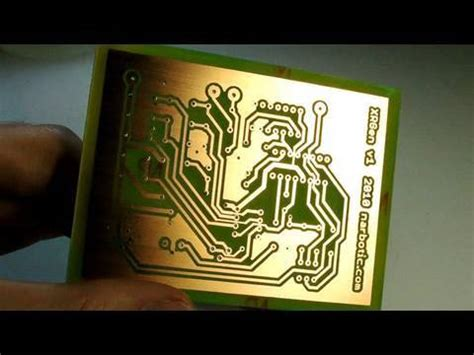 integrated circuit etching circuit skills circuit board etching