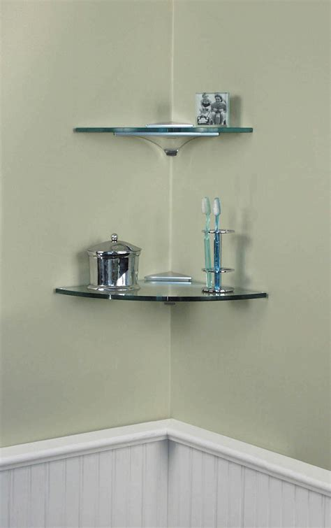 Corner Bathroom Shelving Shelving Hardware Corner Shelf Kits Corner Clip Shelf 12 X 12 Expo Design Inc