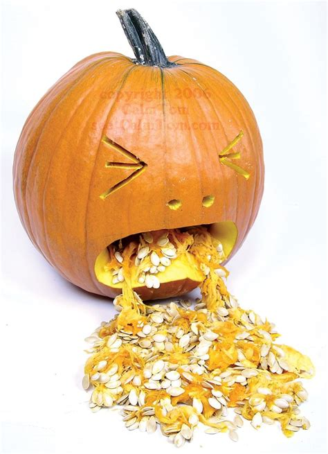 ideas  puking pumpkin  pinterest gross