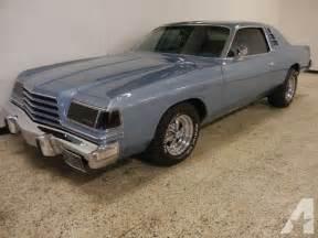 1978 dodge magnum 14 995 for sale in grimes iowa