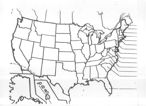 blank map of usa quiz 50 states blank map photo the us 50 states map quiz