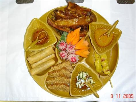 Karburator Pe30 A Thailand combination starter chicken satay thai rolls prawn toast and thai spare ribs picture