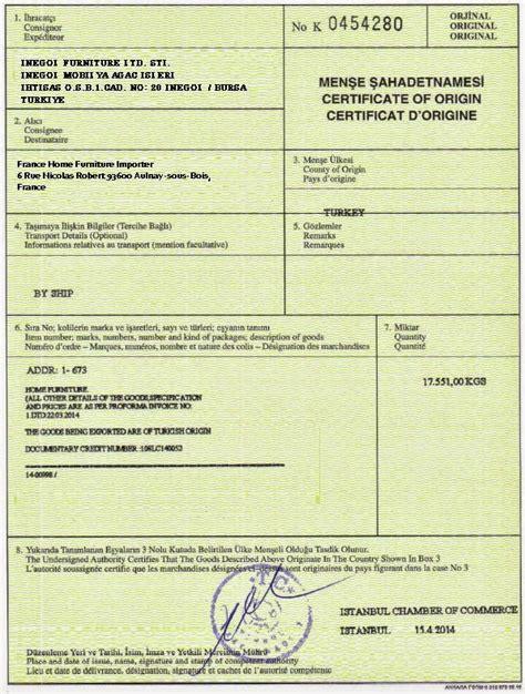 who should issue certificates of origin advancedontrade