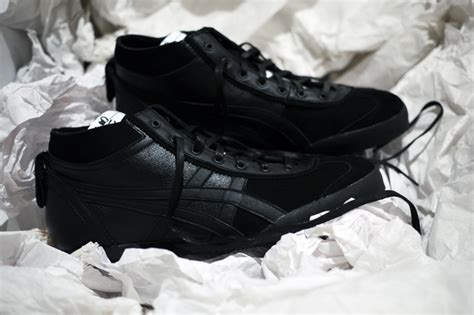 Onitsuka Tiger Mexico Midrunner Deluxe Nippon Made Ready Stock Ori onitsuka tiger mexico mid runner black