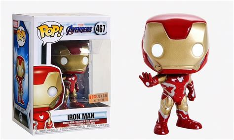 boxlunch exclusive avengers endgame iron man pop