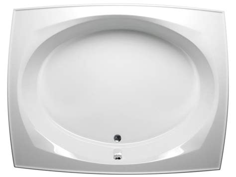 Oversized Drop In Tub Large Drop In Style Malibu Bath Tub With Oval