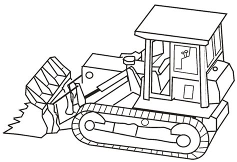heavy equipment coloring book coloring pages