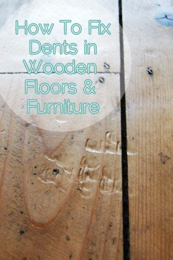 How To Remove Dents In Wood   DIY   Repair & Maintenance