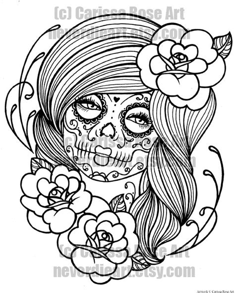 psychedelic palescale coloring book new coloring style 21 images accentuate the colors interior printed in paled color to guide you books sugar skull coloring pictures to pin on tattooskid