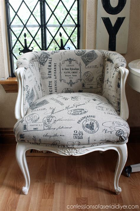 chair repair upholstery makeover french provincial chair makeover confessions of a serial
