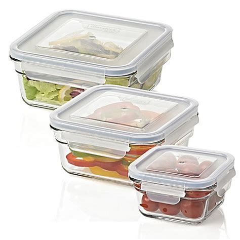 bed bath and beyond containers glasslock food storage container bed bath beyond