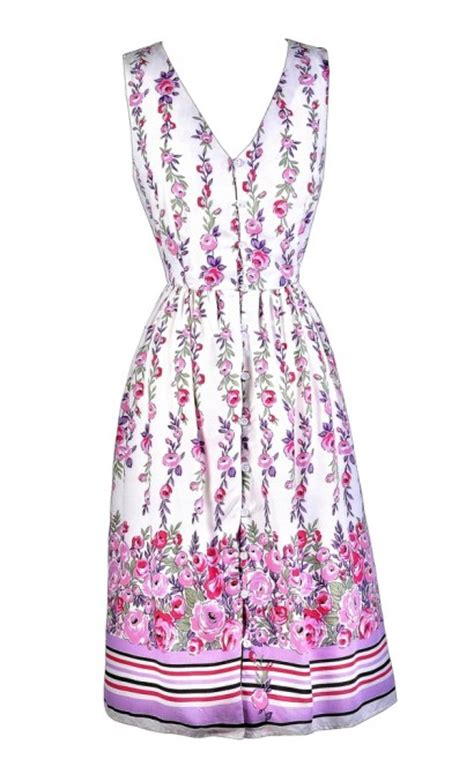 Wear Sweet Flower Sundress boutique purple and pink floral print dress floral