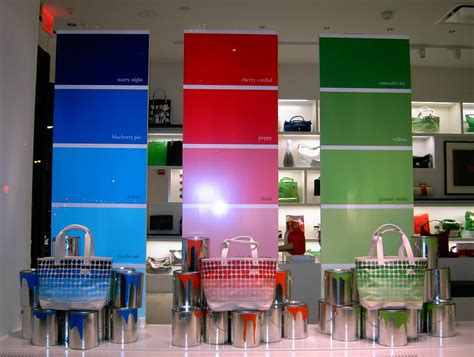 a marmie paint color window display inspiration
