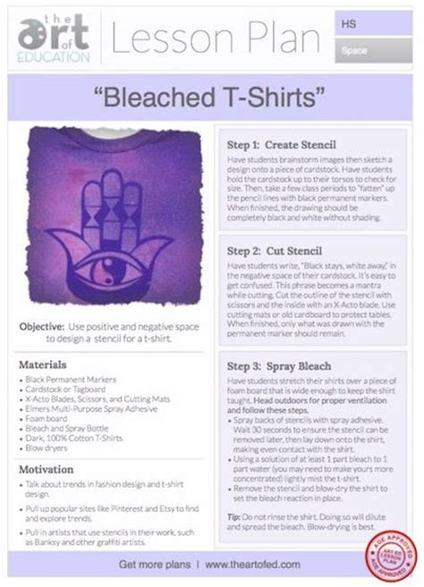 design t shirt lesson plan best 25 bleach t shirts ideas on pinterest diy t shirts