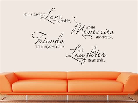 Home Sticker Decorativ Stickere Decorative