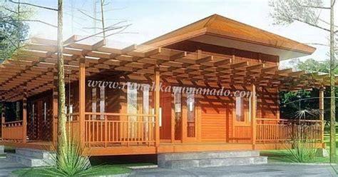 Kursi Kayu Manado rumah kayu knock manado manado wooden house rumah