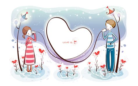 wallpaper untuk couple valentine s day wallpaper valentine s day cartoon