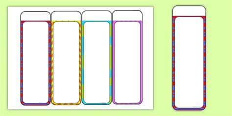 plain bookmark template editable bookmarks reading books read reading award