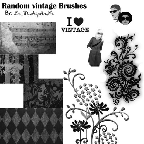 random pattern brush photoshop 30 outclass free vintage brushes sets for photoshop