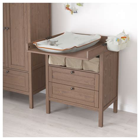Sundvik Changing Table Sundvik Changing Table Chest Of Drawers Grey Brown Ikea
