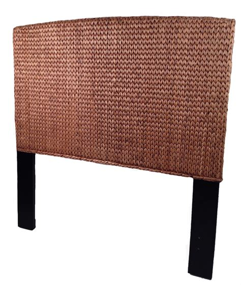 wicker headboard seagrass full headboard miramar