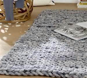 teppich stricken 220 ber 1 000 ideen zu dicke wolle auf