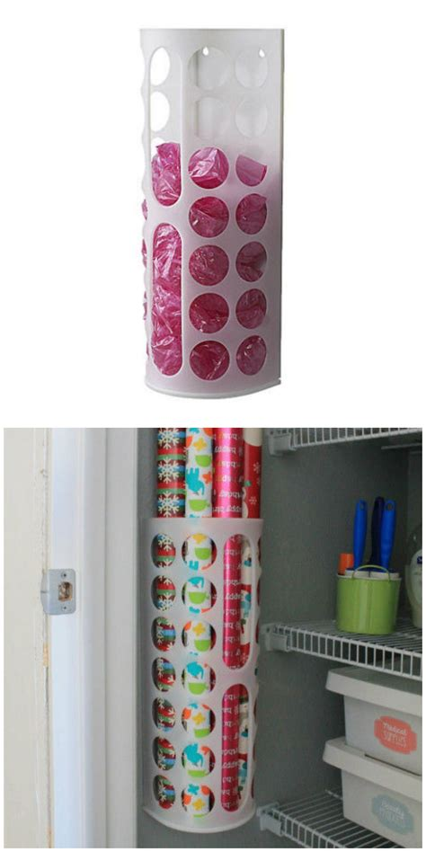 Ikea Variera Dispenser Kantong Plastik the 25 coolest ikea hacks we ve seen plastic bag dispenser ikea hack and wrapping papers