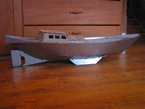 Origami Steel Sailboat - paul s junk sv seeker