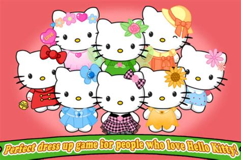 game design your hello kitty dress dress up hello kitty app for ipad iphone games
