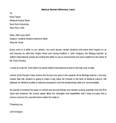 recommendation letter template for student free reference letter templates 32 free word pdf