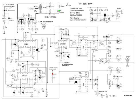 converter dc to ac inverter circuit electrical