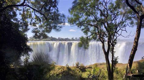 visit victoria falls zimbabwe  zambia  crowded