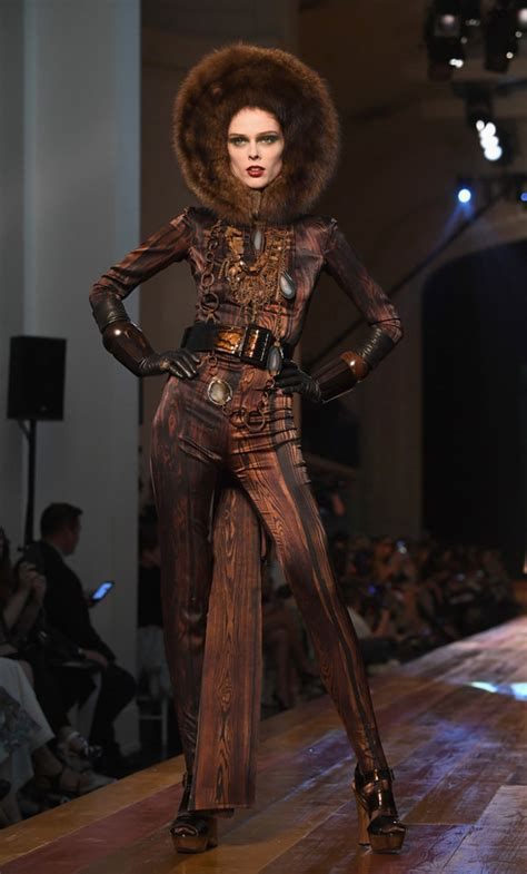 Catwalk To Carpet Osbourne In Jean Paul Gaultier by Jean Paul Gaultier Fall 2016 Couture Collection Tom
